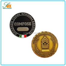 Promotional Customized Metal Antique Stamping Token Coins