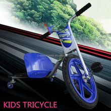 New Design Three Wheel Standing Up 3 Wheels Drift Scooter With Big Front Tire