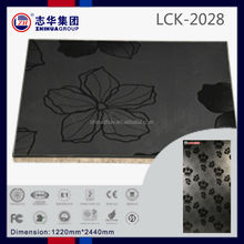 ZH brand E1 grade gloss color painting uv mdf board