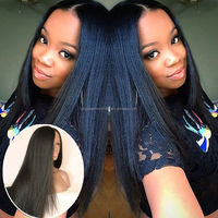 top fashion stock brazilian hair made in america wigs