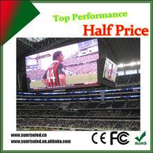 Energy saving full color HD LED video display screen basketball led