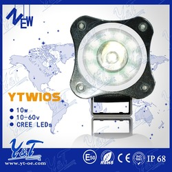 round shape motorcycle light wiring relay motorcycle Waterproof IP68 headlight motorcycle driving light led