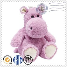 novel design and hot sale promotion gift plush toy hippo
