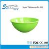 Print Green Plastic Bowl Cheap Melamine