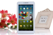 3g dual core MTK phone call function android 4.4 with trade assurance 7 inch android tablet pc