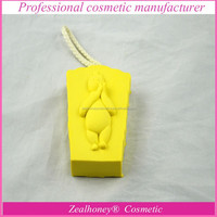 Yellow animal shaped bath sponge bath massage sponge wholesale bath massage sponge
