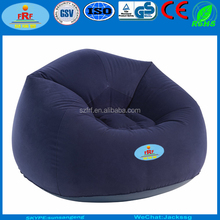 Inflatable Flocking Sofa, Inflatable Moon Chair, Flocked Inflatable Bean Bag Chair