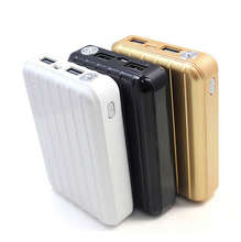 Luggage Shaped External Charger Custom High Capacity Portable Mobile Power Bank