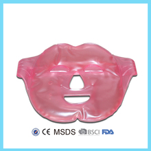 OEM PVC gel ice face mask