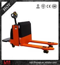2 Ton Stand-on Electric Pallet Truck with Shock Absorption Driving Wheel