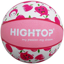 Mini colorful outdoor rubber basketball for children /custom promotion basketball