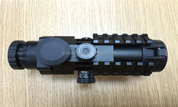1/2MOA 3X32 center dot red&green Illuminant Prism Rifle Scope