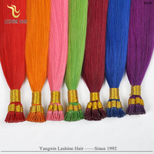 strick quality control 100% direct factory 2014 leshine hair pre-bonded hair extension