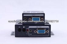 Receptor VGA 100m con perilla de ajuste para la Definición y Brillo