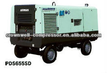 AIRMAN Air Compressor PDS655SD-4B2