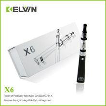 K8 2013 Best selling e cigarette X6 e cigarette hong kong