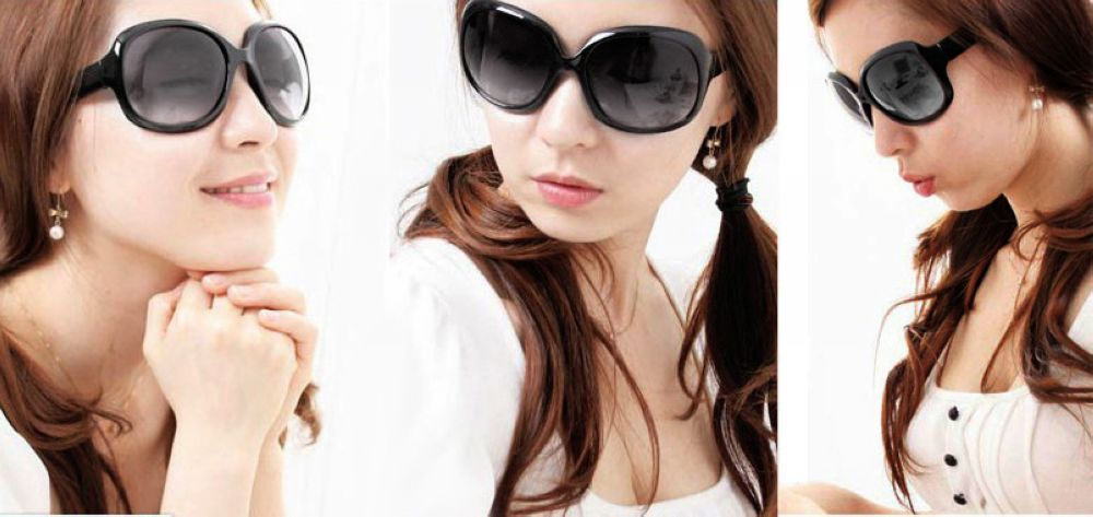 Женские крупные очки фото