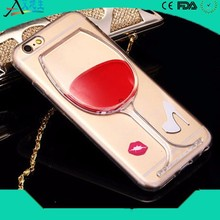 Рекламные подарки новые продукты горячие солевые для iphone6 плюс пк тпу мобильный телефон чехол