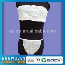 Comfortable Soft Disposable Nonwoven Traveling Bra Panties