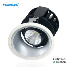 5000lm High Lumens High Power Cree 60W 70w COB LED Dimmable Downlight CRI>90 80