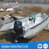 17ft 5.2 meter fiberglass speed boat with outboard engine