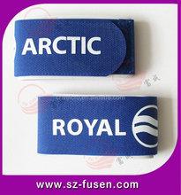 Ski club use velcro ski bindings, ski straps