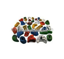 Polyurethane resin for climbing holds