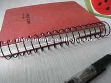 promotional school stationary spiral notebooks