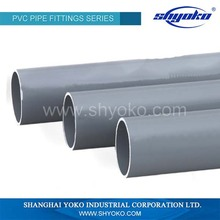 Wholesale high quality pvc half pipe