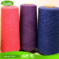 Yarn suppliers top quality cotton blanket yarn remnants with low price