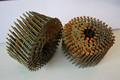 Paletas de madera de bobina clavo tornillo para pallet