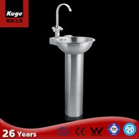 Manufacturing In China 304 Stainless Steel Lavabo