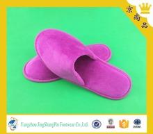 cheap custom disposable folded hotel slipper