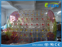Transparent inflatable water sphere for sale/ bubble ball water/inflatable aqua sphere