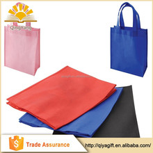 foldable promotion wholesale recycled custom non woven shopping bag