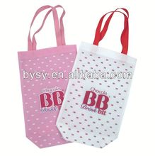 HOT!!! 80gsm recycle red Laminated non woven bag for 2012