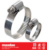 """3""""-4"""" worm drive stainless steel american type hose clamp"""