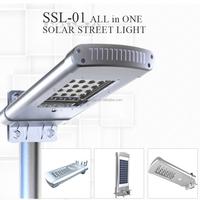 Solar Powe Motion Sensor Cob Led Street Light Retrofit Lens