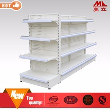 Supermarket used equipment double side wire mesh display shelf/stand