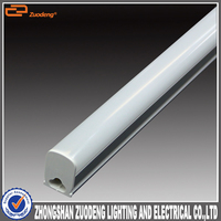 Home Led Lighting 1200mm 24W square double 4ft Silver tube5 led light