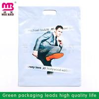 customer die cut packaging type plastic bags