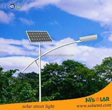 2015Hot selling Bridgelux/Epistar Aluminum solar street light,solar lighting system for village roads,park,factory ect.