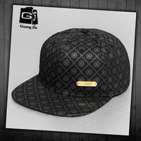 Fashion new products printing little black sun monster hat