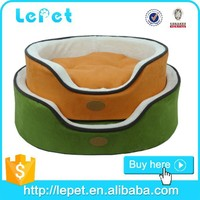 manufacturer wholesale soft and warm cozy round luxury dog bed xl