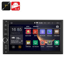 7 Inch Android 4.4 Car DVD Player - 2DIN Fitting, 3G, Bluetooth, Wi-Fi, GPS, RK3066 1.6GHz CPU, 1GB RAM