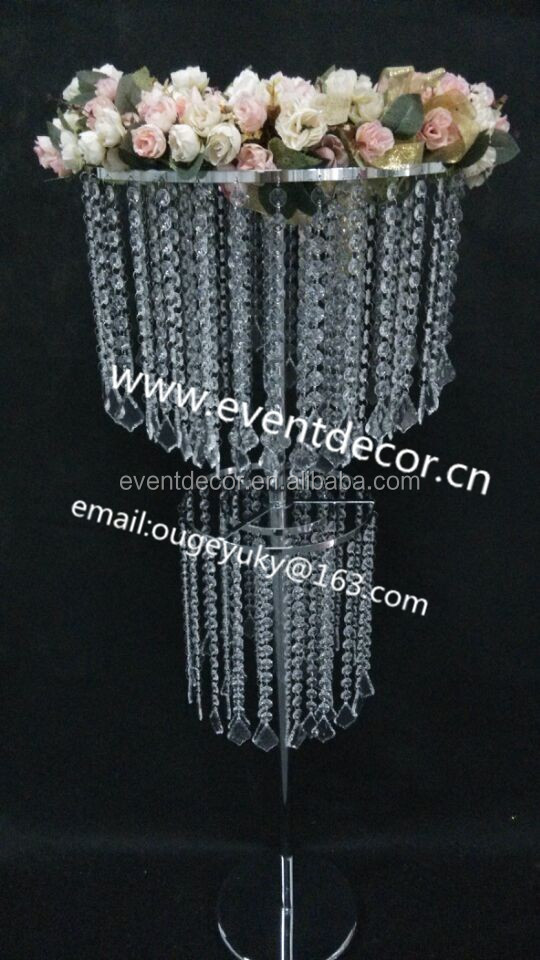 Cheap Wedding Table DecorationWholesale Crystal Table Top