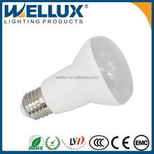 High Quality PC/Aluminum With Plastic R60 R63 E27 E14 Base 7 Watt Led Bulb