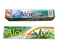 OEM Aloe vera rapid white toothpaste , pearl white toothpaste , advance white toothpaste
