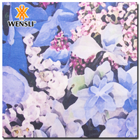 Wholesale Low Price High Quality Floral Digital Print Fabric