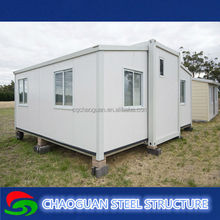 China new desgin and low cost steel sandwich panel prefab mobile beach house